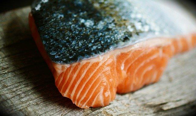 baking salmon